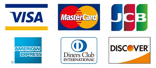 クレジットカードでお支払いも可能です